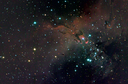 Eagle Nebula color composite