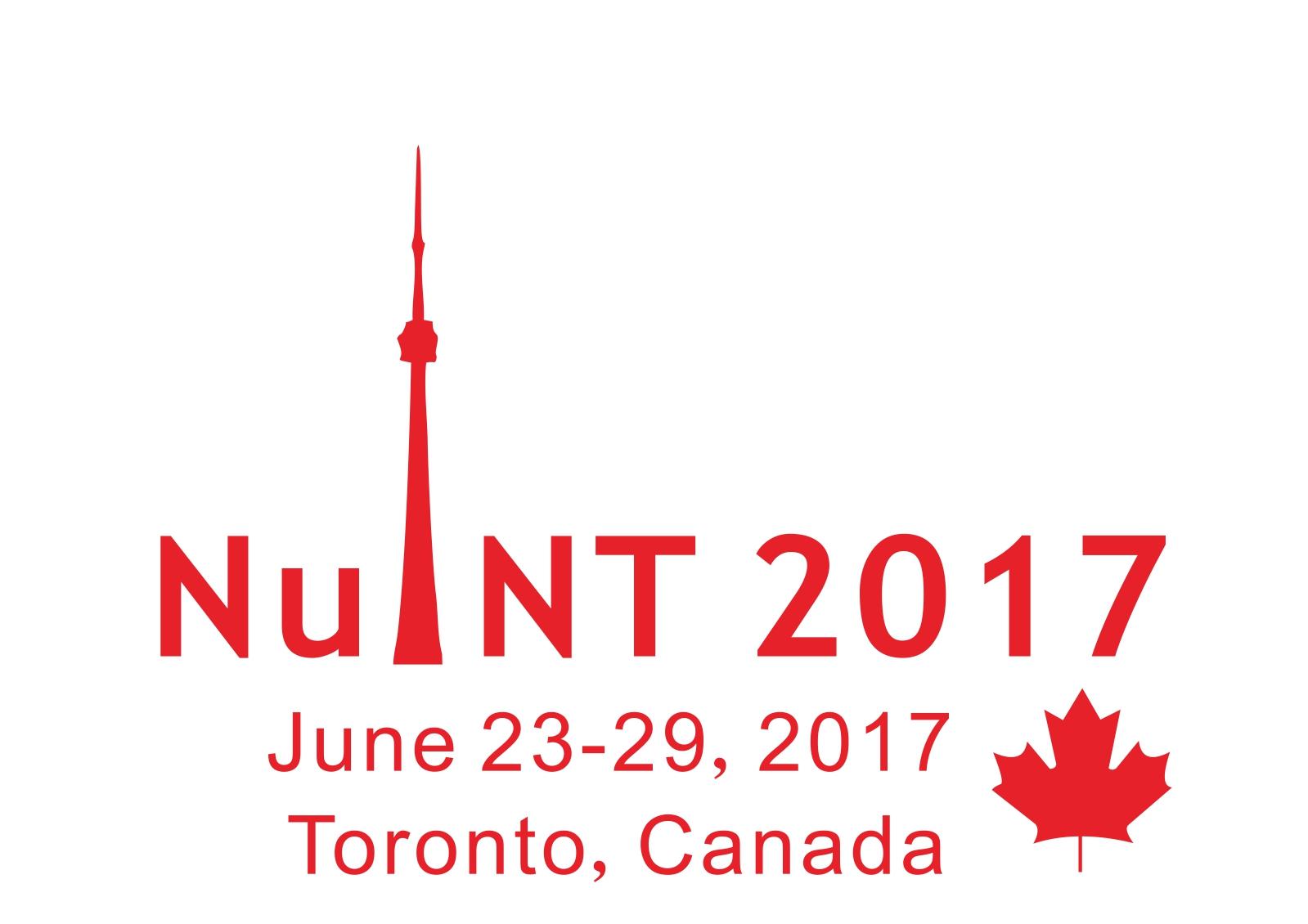 NuINT2017 logo